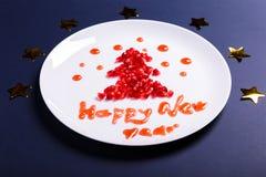 Νέα συγχαρητήρια έτους στοκ εικόνες