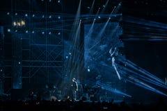 Νέα συναυλία παραμονής έτους ` s στοκ εικόνες