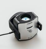 Νέα συσκευή διακριβωτών Xrite στο άσπρο υπόβαθρο Στοκ Φωτογραφίες