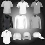Νέα σχέδια μπλουζών και ΚΑΠ Στοκ εικόνα με δικαίωμα ελεύθερης χρήσης