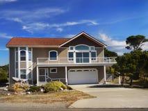 Νέα σύγχρονα σπίτια, Pacific Coast του Όρεγκον Στοκ Εικόνες