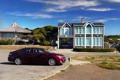 Νέα σύγχρονα σπίτια, Pacific Coast του Όρεγκον Στοκ εικόνα με δικαίωμα ελεύθερης χρήσης