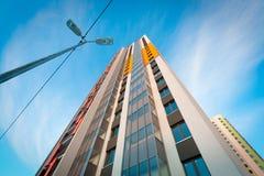 Νέα σύγχρονη αρχιτεκτονική Στοκ Εικόνες