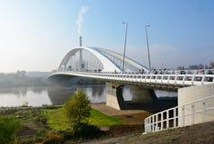 Νέα σύγχρονη γέφυρα Στοκ εικόνες με δικαίωμα ελεύθερης χρήσης