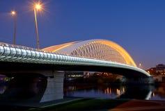 Νέα σύγχρονη γέφυρα Στοκ φωτογραφίες με δικαίωμα ελεύθερης χρήσης