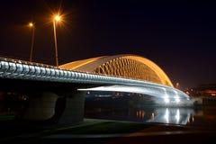 Νέα σύγχρονη γέφυρα Στοκ Εικόνα