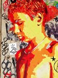 Νέα τέχνη οδών Στοκ εικόνες με δικαίωμα ελεύθερης χρήσης