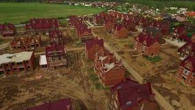 Νέα τακτοποίηση εξοχικών σπιτιών σε ένα βρετανικό βίντεο ύφους απόθεμα βίντεο