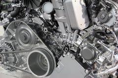 Νέα τεχνολογία μηχανών αυτοκινήτων Στοκ Φωτογραφίες