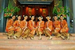 Νέα της Μαλαισίας teens Στοκ Φωτογραφίες