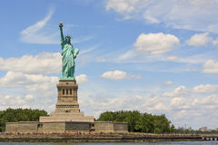 Νέα Υόρκη, άγαλμα της ελευθερίας Στοκ Φωτογραφία