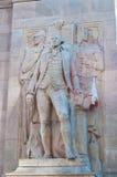 Νέα Υόρκη: Άγαλμα του George Washington στην τετραγωνική αψίδα της Ουάσιγκτον στις 17 Σεπτεμβρίου 2014 Στοκ εικόνες με δικαίωμα ελεύθερης χρήσης