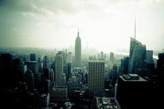 Νέα Υόρκη από Rockefeller Στοκ Φωτογραφία
