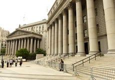 Νέα Υόρκη, ΗΠΑ - 10 Ιουνίου 2018: Δικαστήριο του Marshall Thurgood και Στοκ φωτογραφία με δικαίωμα ελεύθερης χρήσης