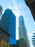 Νέα Υόρκη, ΗΠΑ - 13 Φεβρουαρίου 2013: Άποψη του Μανχάταν πόλεων με τους ουρανοξύστες Στοκ φωτογραφία με δικαίωμα ελεύθερης χρήσης