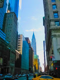 Νέα Υόρκη, ΗΠΑ - 13 Φεβρουαρίου 2013: Άποψη του Μανχάταν πόλεων με τους ουρανοξύστες Στοκ Εικόνα