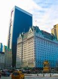 Νέα Υόρκη, ΗΠΑ - 13 Φεβρουαρίου 2013: Το θρυλικό ξενοδοχείο Plaza είναι ένα ορόσημο 20 διαμέρισμα ξενοδοχείων πολυτελείας και συγ Στοκ φωτογραφία με δικαίωμα ελεύθερης χρήσης