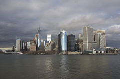 Νέα Υόρκη μια νεφελώδη ημέρα Στοκ φωτογραφίες με δικαίωμα ελεύθερης χρήσης
