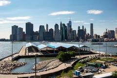 Νέα Υόρκη, πόλη/ΗΠΑ - 10 Ιουλίου 2018: Πάρκο Stirling οχυρών σε σαφή Στοκ φωτογραφία με δικαίωμα ελεύθερης χρήσης