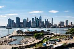 Νέα Υόρκη, πόλη/ΗΠΑ - 10 Ιουλίου 2018: Πάρκο Stirling οχυρών σε σαφή Στοκ Φωτογραφία