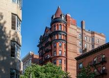 Νέα Υόρκη, πόλη/ΗΠΑ - 10 Ιουλίου 2018: Παλαιά κτήρια του Μπρούκλιν Χ Στοκ φωτογραφία με δικαίωμα ελεύθερης χρήσης