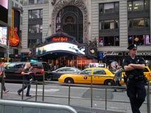 Νέα Υόρκη σκληρής ροκ Στοκ Φωτογραφία