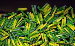 Νέα φω'τα της Βεγγάλης, sparkler πλήρως στο κατάστημα Υπόβαθρο των sparklers στο πακέτο στοκ φωτογραφία με δικαίωμα ελεύθερης χρήσης