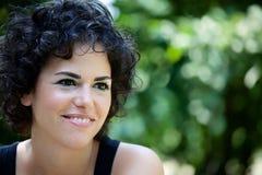 Νέα χαμογελώντας γυναίκα Στοκ Εικόνα
