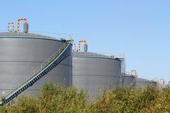 Νέα χημική δεξαμενή αποθήκευσης Στοκ φωτογραφία με δικαίωμα ελεύθερης χρήσης