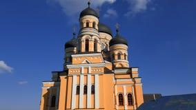 Νέα χριστιανική εκκλησία στη Δημοκρατία της Μολδαβίας Στοκ εικόνες με δικαίωμα ελεύθερης χρήσης