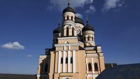 Νέα χριστιανική εκκλησία στη Δημοκρατία της Μολδαβίας Στοκ Εικόνες