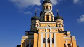 Νέα χριστιανική εκκλησία στη Δημοκρατία της Μολδαβίας Στοκ φωτογραφία με δικαίωμα ελεύθερης χρήσης