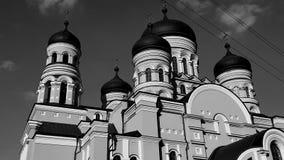 Νέα χριστιανική εκκλησία στη Δημοκρατία της Μολδαβίας Στοκ Φωτογραφίες