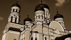 Νέα χριστιανική εκκλησία στη Δημοκρατία της Μολδαβίας Στοκ εικόνα με δικαίωμα ελεύθερης χρήσης