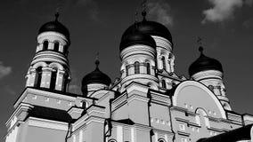 Νέα χριστιανική εκκλησία στη Δημοκρατία της Μολδαβίας Στοκ Φωτογραφία