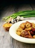 Νέα ψημένη ψημένη πατάτα Στοκ φωτογραφία με δικαίωμα ελεύθερης χρήσης