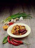 Νέα ψημένη ψημένη πατάτα Στοκ Φωτογραφία