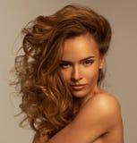Νέα όμορφη γυναίκα Στοκ Εικόνες
