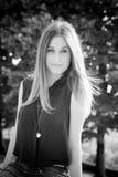Νέα όμορφη γυναίκα hipster Στοκ φωτογραφία με δικαίωμα ελεύθερης χρήσης