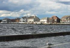 νέα όψη παραλιών του Τζέρσεϋ &ka Στοκ Εικόνα