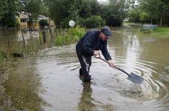 νέα ύδατα Ζηλανδία πλημμυρών κάλυψης Στοκ φωτογραφίες με δικαίωμα ελεύθερης χρήσης