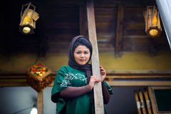 Νέα beautyful ιρανική γυναίκα στοκ εικόνες