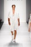 νέα Nicholas εβδομάδα Υόρκη μόδας Κ Στοκ Εικόνα