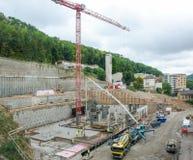 νέα publis μερών κτηρίου apartaments Στοκ Εικόνα