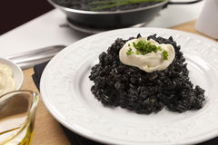 Νέγρος Arroz - μαύρο ρύζι Στοκ Φωτογραφία