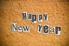 Νέες επιθυμίες έτους στοκ εικόνες με δικαίωμα ελεύθερης χρήσης
