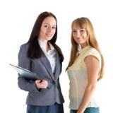 Νέες επιχειρησιακές γυναίκες Στοκ Φωτογραφία