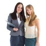 Νέες επιχειρησιακές γυναίκες Στοκ Εικόνα
