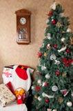 Νέες διακοσμήσεις του έτους και Χριστουγέννων Στοκ Εικόνα