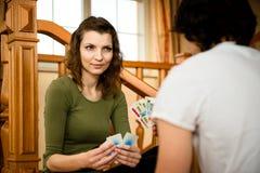 Νέες κάρτες παιχνιδιού ζευγών Στοκ εικόνα με δικαίωμα ελεύθερης χρήσης